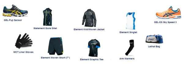 Asics Kit