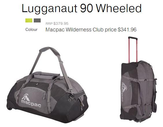 MacPac Luggernaut 90 Wheeled