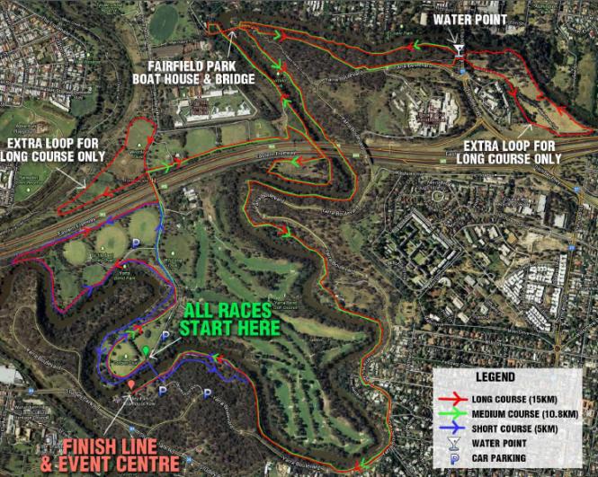 Salomon Trail Race 1 Map
