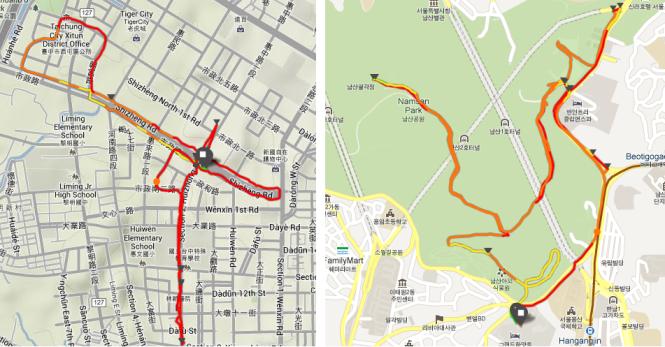 Run Maps