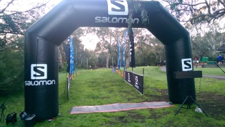 Suunto Sprint finish