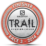 Salomon Race 3 - badge
